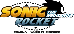 Sonic Rocket [Hack] - Official HD Logo by AsuharaMoon