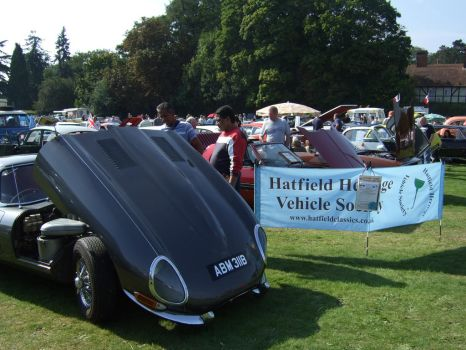 classic cars line up watford 2 by Sceptre63