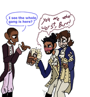 Hamilton Doodle-The Story of Tonight (Reprise) by MaryOfBears