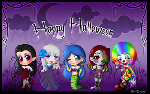 Halloween Sticker 2011 by mea0113