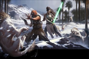 Star Wars: Force and Destiny Beginner Game by wraithdt