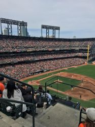 Packed crowds!!!! FULLY ORANGE AND BLACK!!!!!!! by sfgiants58