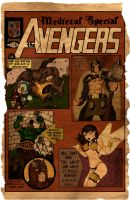 Yon Medieval Avengers by MikeMarsArt