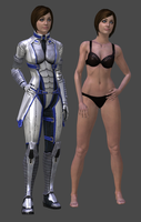 Liara Human DL by TheRaiderInside