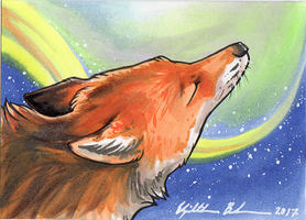 Red Fox ACEO 3 by Redwall151