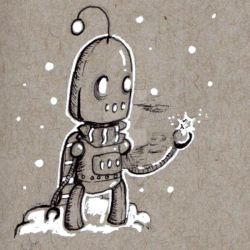 Robots: Snow by KekeIllustrations