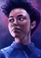 Michael Burnham (Star Trek Discovery) by Kirana
