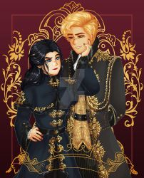 King of Scars: Zoya and Nikolai by allarica