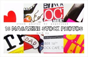 Stock Pack 05: Magazine Scans by PaperJunk