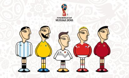 2018 FIFA World Cup by parblo-tablet