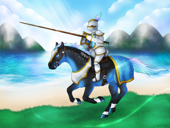 Sorc - Summer Jousting by Solloby