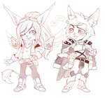 Commission - Yordles! by Czhe