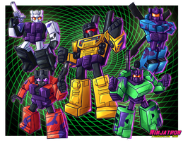 Generation 2 Combaticons by ninjatron