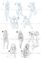 Commission Process (Sketch): Kasturi by Celestial4ever