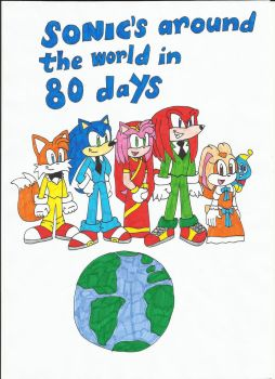 Sonic's Around the World in 80 Days cover by KatarinaTheCat
