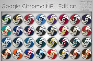 Google Chrome NFL Edition by xylomon