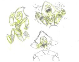 Peridot Sketches by BreakoutKid