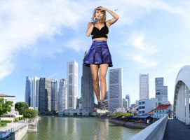 Taylor Swift in Singapore by MAZ-629999