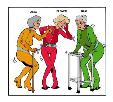 Totally Spies Aged (Colored) by rayc5678