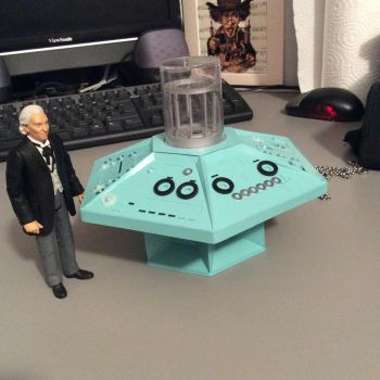 The first tardis console. by lucasmanlucas