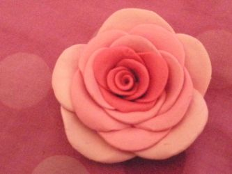 Tricolor Clay Rose 2 by HuskyHugs