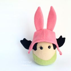 Louise Belcher Plushie by Saint-Angel