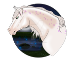 N4817 White as Snow - Mare by MistMasquerade