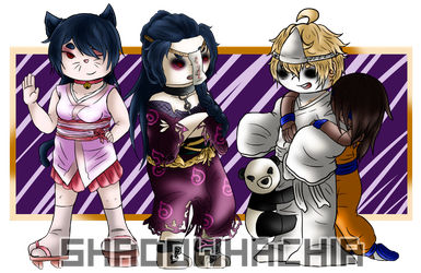TG: Cats, Vampires, and Ghosts by ShadowHachia