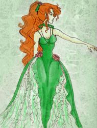Green Rose by Le-Artist-Boheme