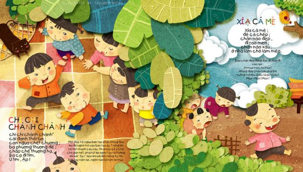 Vietnamese Game ,for child by tamypu