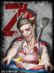 Fast Food Zombie by AltroEvo