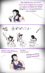 RWBY Flash back: when Ghira met Kali pt 2 by Omnipotrent