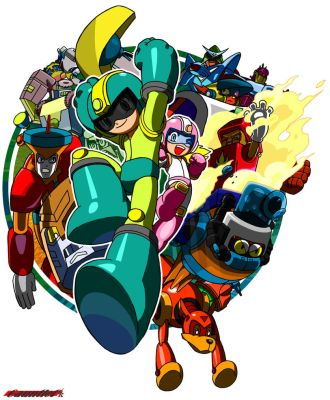 Captain N's Rockman 2 by Gauntlet101010