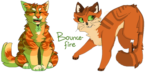 Bouncefire by MeggisCat