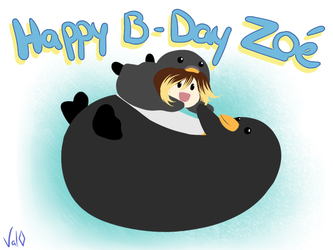 Happy B-Day Zoe :p by Val-07