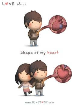 110. Love is... Shape Of My Heart by hjstory