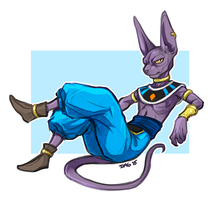 Beerus Sketch by Majime