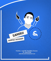 Poster for my self by thesamirH