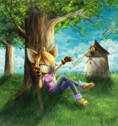 Sunny day by Alisthecat