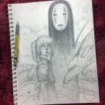 Vonn Sketch - Spirited Away by Tvonn9