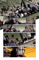 Dawn of the Planet of the Apes #5 pg13 Colors by JasonWordie