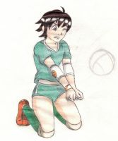 Rule 63 Rock Lee, volleyball player by Maoden-DOis