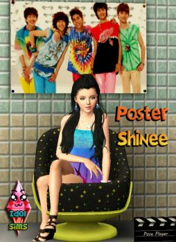 Poster Shinee by RainboWxMikA