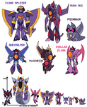 Transformers Animated: StarTracker Sparklings by KingRebecca