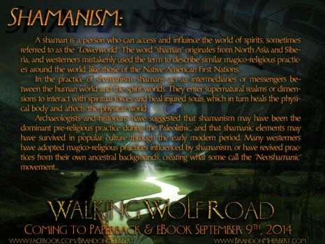 Walking Wolf Road - Shamanism by Neo-Moon