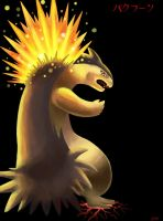 Special Request: Typhlosion by ECrystalica