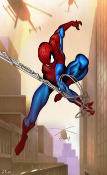 Spiderman by LuisTomas