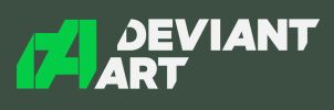 Personal vision of new DeviantArt logo by GingerJMEZ