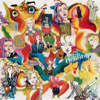 Delirium Collage for a Poster by Lemuria13