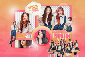 PRISTIN PNG PACK #2/Time Table by UpWishColorssx